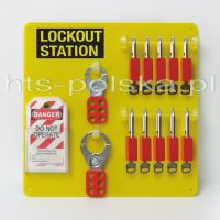 Stacja Lockout Tagout Brady